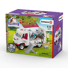 Schleich 42370 Mobile Horse Vet With Hanoverian Foal Horse Club Plastic Playset