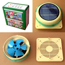 SOLAR VENT AUTOMATIC FAN VENTILATOR Model: GM712 YACHT BOAT DOMESTIC SHED