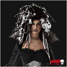 Sexy Eternal Evil Seductress Wig - Ladies Vampire Gothic Halloween Witch Costume