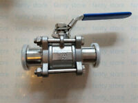 Ball Valve for rough vacuum isolation, both sides KF25 flange, SS304 #A53Y LW