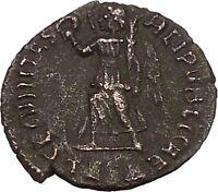 "VALENS ""Last True Roman"" 367AD Ancient Roman Coin Victory Cult  Angel  i42373"