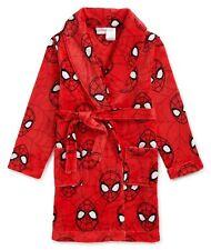 Spiderman Robe Size 6-7 8 10-12 Boys Bathrobe Pajamas Small Medium Large NEW NWT