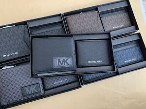 MICHAEL KORS MENS WALLET WITH GIFTING BOX SET IN MULTI COLORS