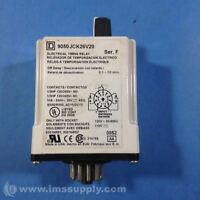 SQUARE D 9050 JCK26V20 TIMER RELAY 240VAC 10AMP USIP