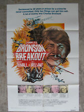 "Breakout Charles Bronson 41"" x 27"" movie poster"