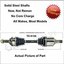 2005-2014 TOYOTA TACOMA CV Axle New Front Right or Left  FITS MANY MODELS