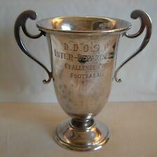 MAPPIN & WEBB- SHEFFIELD  1912 - STERLING SILVER FOOTBALL TROPHY CUP - 179 grams