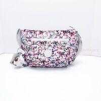 NWT Kipling HB3820 Syro Crosbody Shoulder Bag Purse Polyester Lucky Leaves Multi