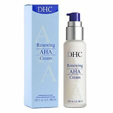 DHC Renewing AHA Cream, 45 ml, includes four free samples