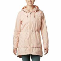 Columbia Women's Sweet Maple Hooded Jacket Peach Cloud plus size 2X 1005