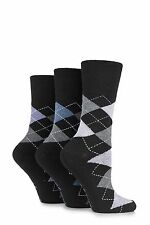 Ladies Gentle Grip Honey Comb Top Socks Solrh12