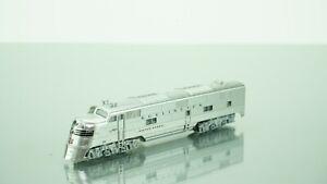 """Kato E5A CB&Q """"Silver Speed"""" N scale"""