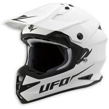 "Ufo Helm Warrior ""Base"" weiss Sturzhelm Motorradhelm Motocrosshelm"