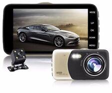 """4.0"""" Dual Lens Auto Car Camera DVR Video Registrator Dash Cam Full HD 1080p"""