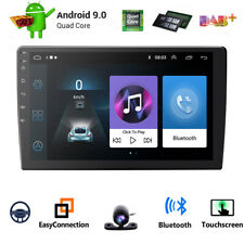 Double 2Din 10.1inch Android 9.0 Quad Core Car Radio In Dash Stereo GPS 4G DAB+