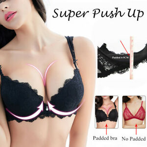 Varsbaby Thick Cup Push Up Bra Underwire Padded Lace Sexy Brassiere