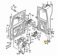 Nuovo Originale VW Caddy 04-08 Porta Posteriore Saliscendi Chiusura Destra o / S