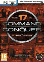 Command & Conquer: The Ultimate Collection [PC-DVD Computer 17 Games RTS] NEW