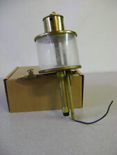 Brass Drip Oiler with Glass, unknown maker used Large Steampunk Vintage oiler