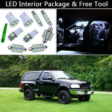 7PCS Xenon White LED Interior Lights Package kit Fit 97-2003 Ford F-150 F150 J1