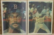 (2) 1986 Sportflics #17 Jim Rice