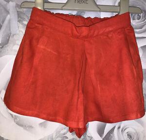 Girls Age 18-24 Months - Next Red Shorts