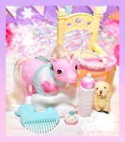 ❤️My Little Pony MLP G1 Vtg Baby Lickety Split Beddy Bye Pink BBE Accessories❤️
