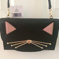 NEW Kate Spade CAT Jazz Things Up WINNI Kitty Crossbody Bag Wallet $229 Novelty