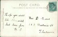 Miss D Bond. 123 Victoria Street, Fleetwood 1904    QC965