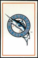 Florida Marlins #137 Panini Major League Baseball 1995 Etiqueta (C348)
