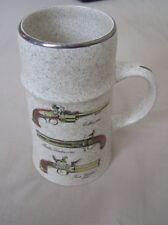 Large vintage Royal Worcester Palissy tankard / mug
