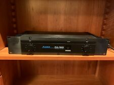 Alesis Ra-100 Studio Reference Professional Power Amplifier 100W Per Channel
