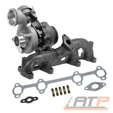 ABGAS-TURBO-LADER FÜR AUDI A3 8P 8P1 8PA 77KW 105 PS MOTORCODE BKC BXE 1.9 TDI