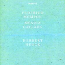 Herbert Henck, F. Mompou - Musica Callada [New CD]