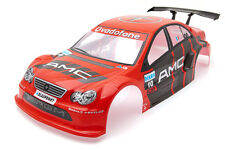RCG Racing Mercedes C Class AMG 1/10th RC Car Body Shell Red 190mm S014R