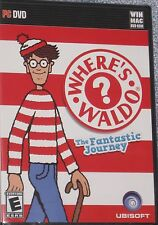 NEW Where's Waldo ? The Fantastic Journey MAC or PC Game Free Shipping !