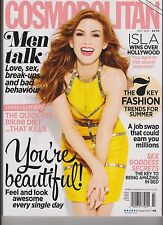 COSMOPOLITAN MAGAZINE UK JULY 2013, THE 7 KEY FASHION TRENDS FOR SUMMER.