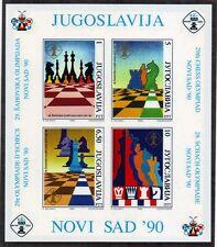 Jugoslavia 1990 Bf Olimpiadi degli scacchi N. D.  MNH