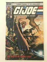 GI Joe A Real American Hero #212 Death Of Snake Eyes 1st Print HTF 2015 IDW