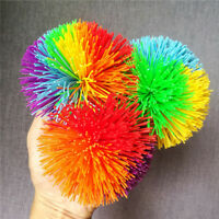 Anti-stress Squeeze Toy Rainbow Ball Emotion Vent Ball Adults Antistress Toys CF