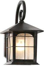 Vintage Outdoor Lamp,Wall lighting fixture,sconce,porch Light, Aged Iron Lantern