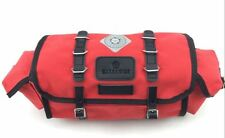 Carradice Barley LIMITED EDITION RED Cotton & Leather 9l Saddlebag TOUR AUDAX