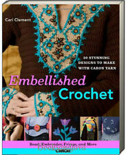 Embellished Crochet Bead, Embroider, Fringe, and More: 28 Stunning Designs