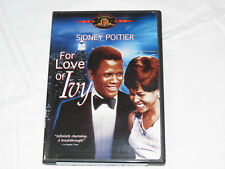 For Love of Ivy DVD 2004 Rated G Widescreen Drama Sidney Poitier