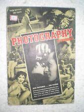 PHOTOGRAPHY HANDBOOK RARE ANTIQUE BOOK 300 PICTURES 1938
