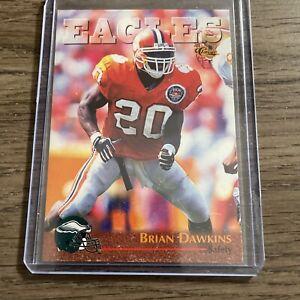 1996 Classic Brian Dawkins Rookie RC Card #92 Philadelphia Eagles Clemson HOF