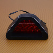 Red Triangle Flash 12 LED Lights Brake Rear Tail Light for Car Motorcycle ATV