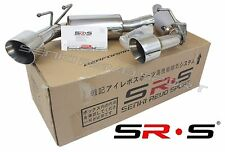 SR*S 2010 2011 2012 2013 2014 2015 CAMARO SS Axle Back Exhaust System Stainless