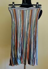 Missoni sz 44/8 Striped Gored Knit Skirt from Saks Fifth Avenue
