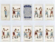 Full Set, Franklyn Davey, Boxing 1924 VG+ (Ga3127-444)